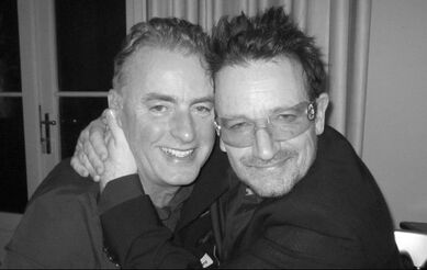 Dave Fanning and Bono